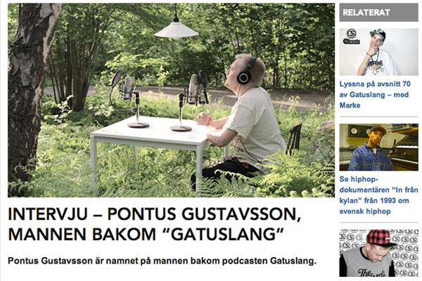 Gatuslang belyses i svensk hiphop-media