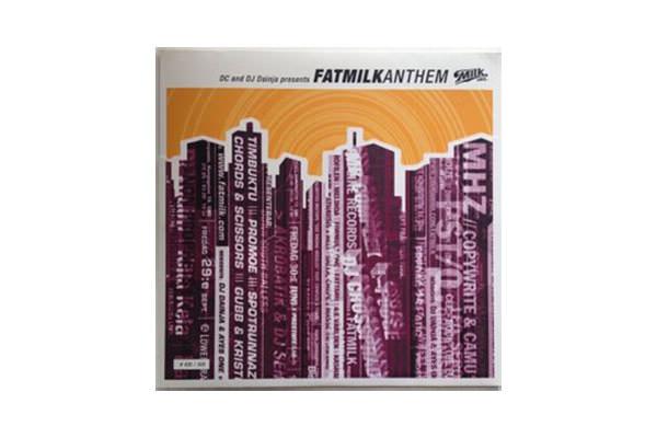 ENTD 43: DC & DJ Dainja – Fatmilk Anthem [Vinyl, 2001]