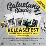 Gatuslang Classics releasefest på Fröken Vandal 25/10