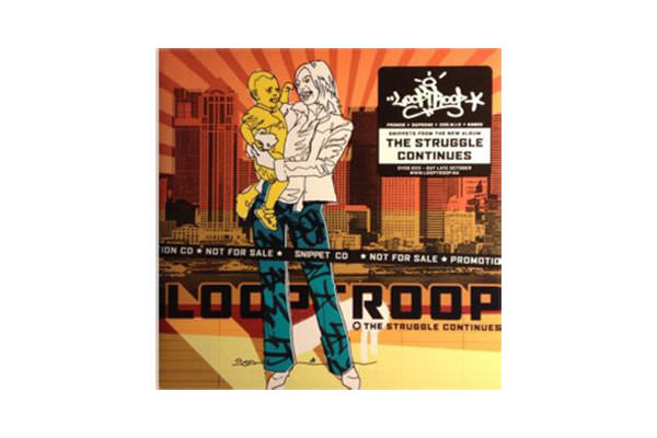 ENTD 20: Looptroop – The Struggle Continues (Snippet CD) [CD, 2002]
