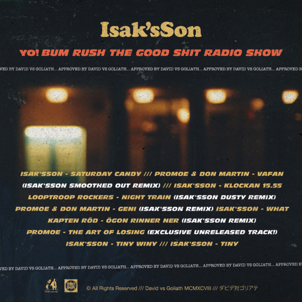Exklusivt: Yo! Bum Rush The Goodshit Radio Show (Mixtape)