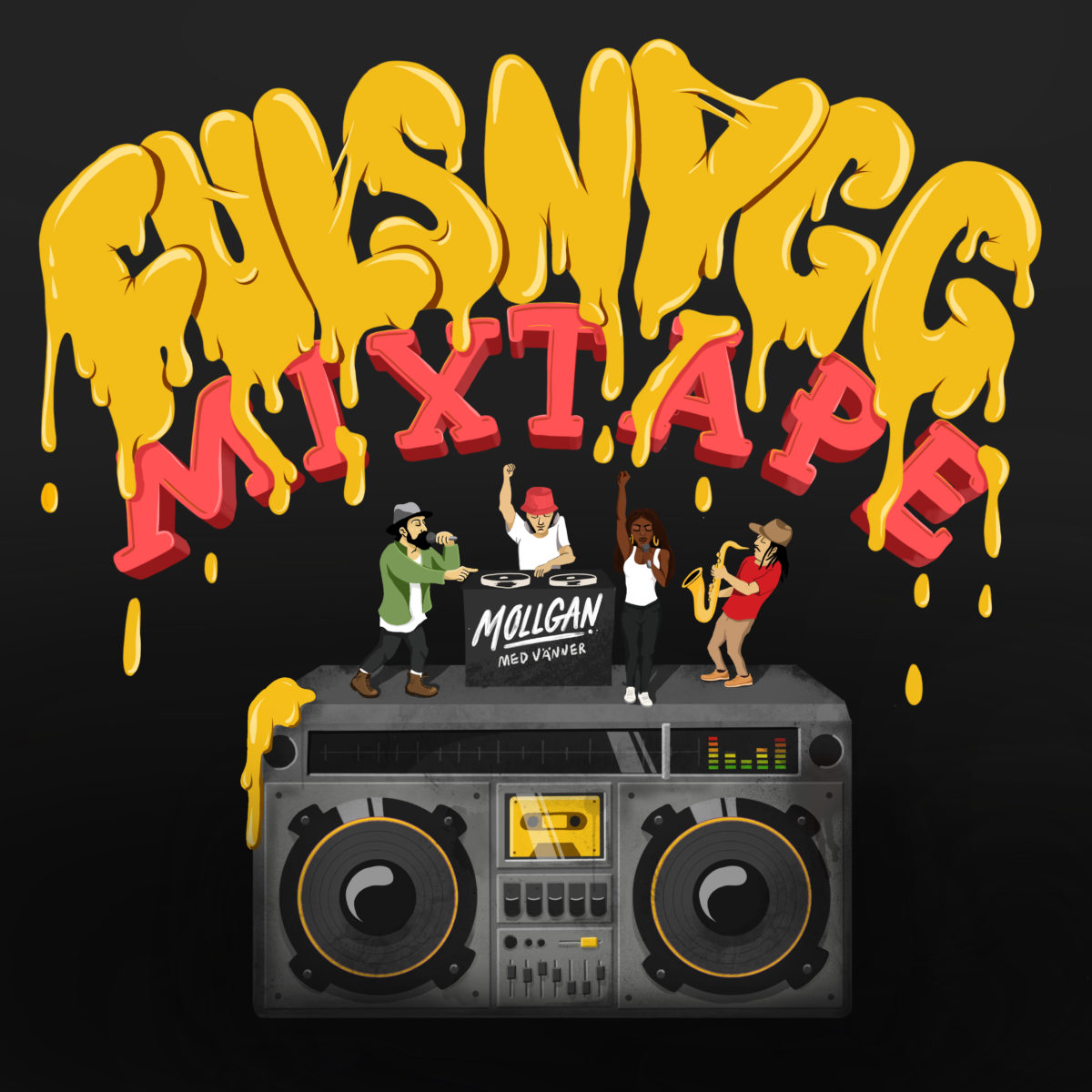 Exklusivt: Mollgan – Fulsnygg Mixtape (MP3)